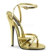 DOMINA - 108 Gold Metallic Faux Leather